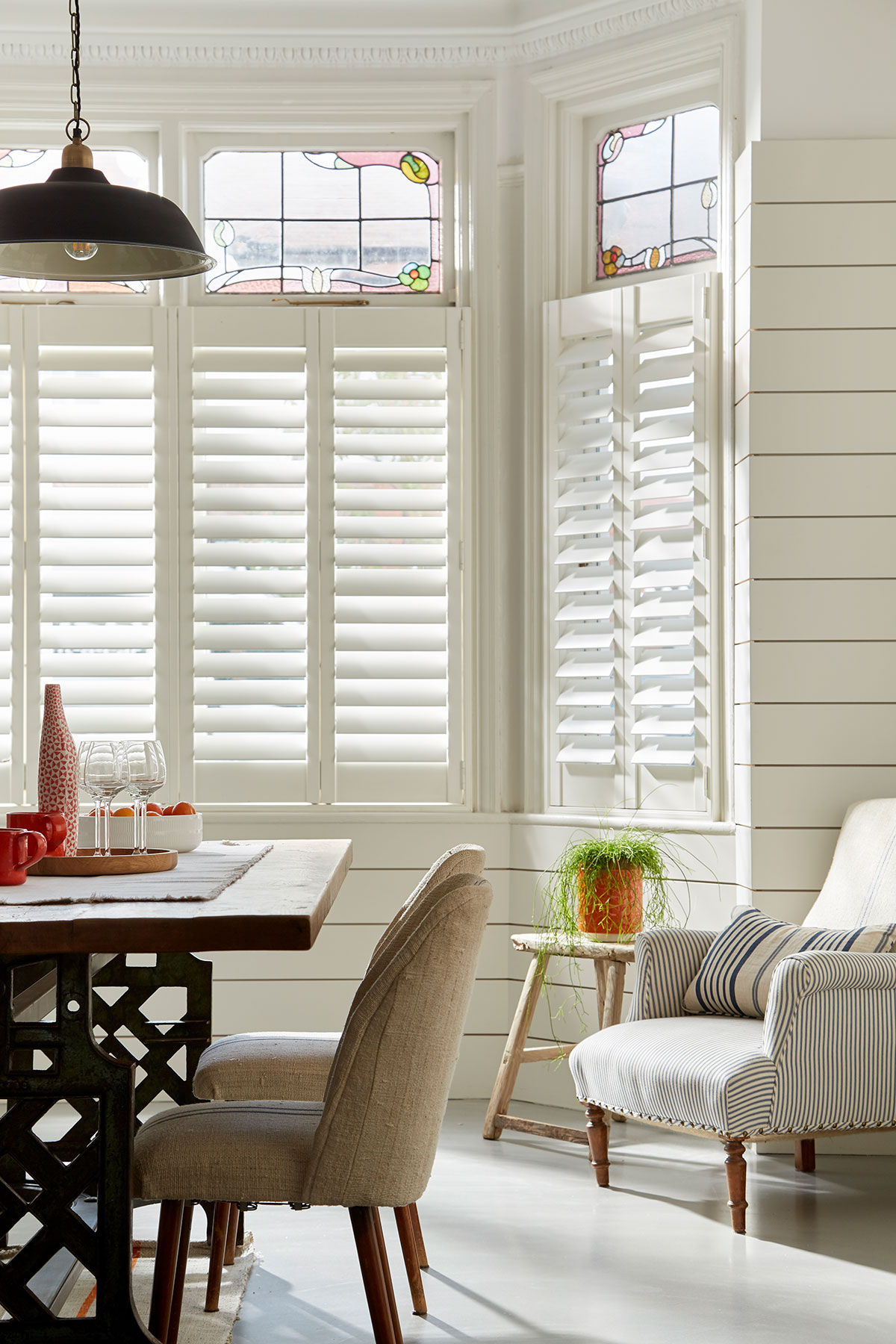 cafe style shutters 3