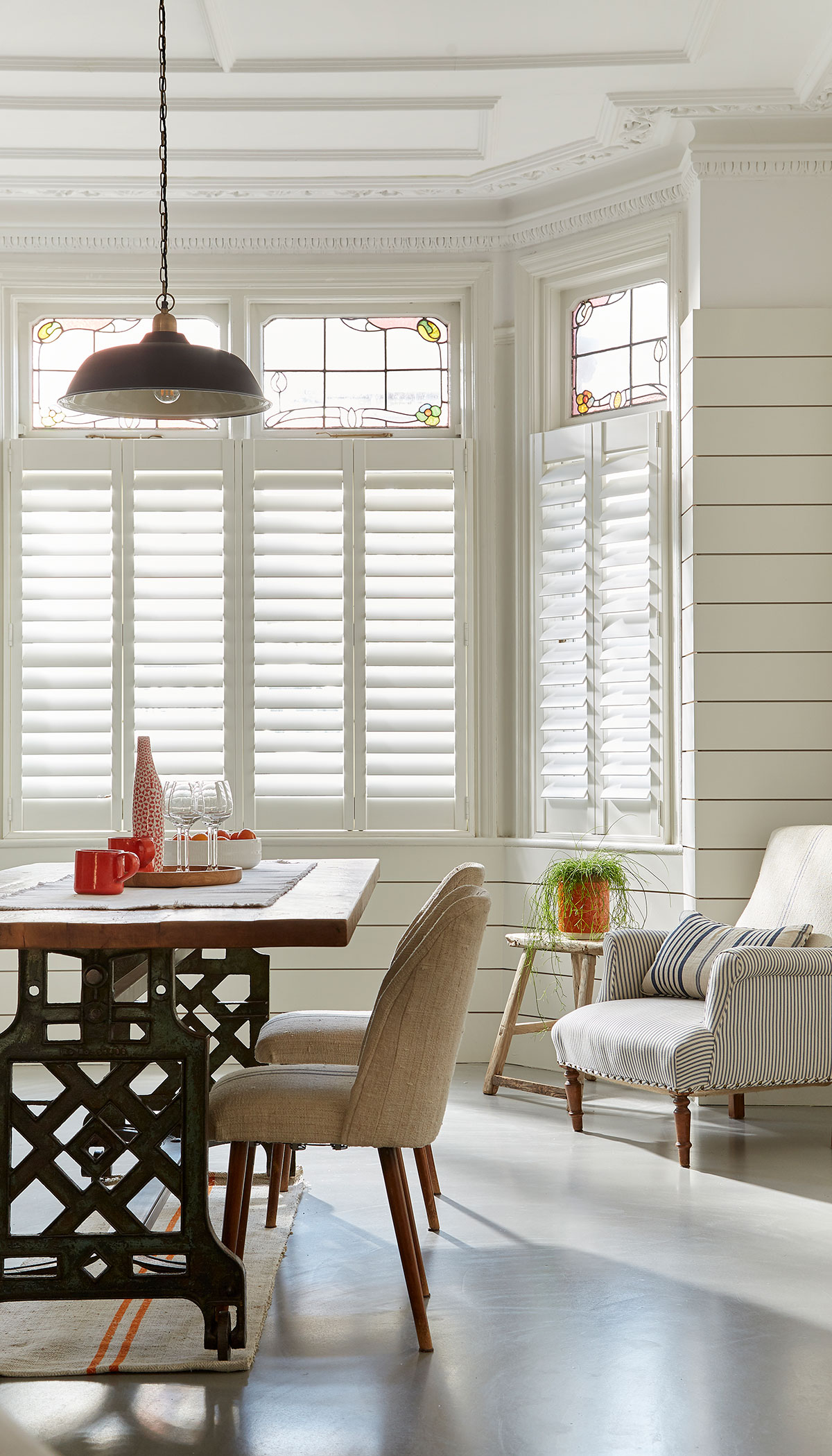 cafe style shutters 5