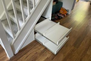 understairs storage bespoke